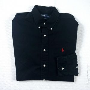 "Ralph Lauren ""Blake"" Long Sleeve Button Down Shirt"